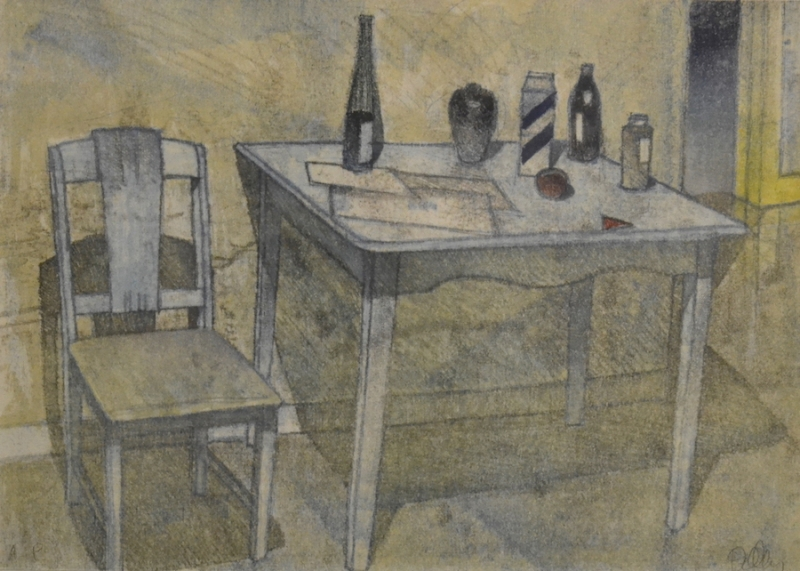 BRIAN KELLEY -- UNTITLED (STILL LIFE)