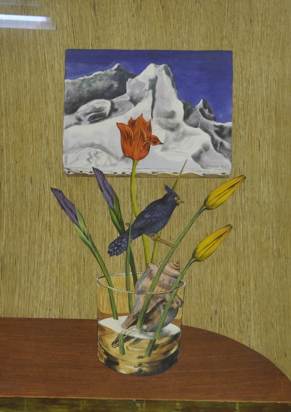 TORRIE GROENING -- STILL LIFE WITH PAINTING