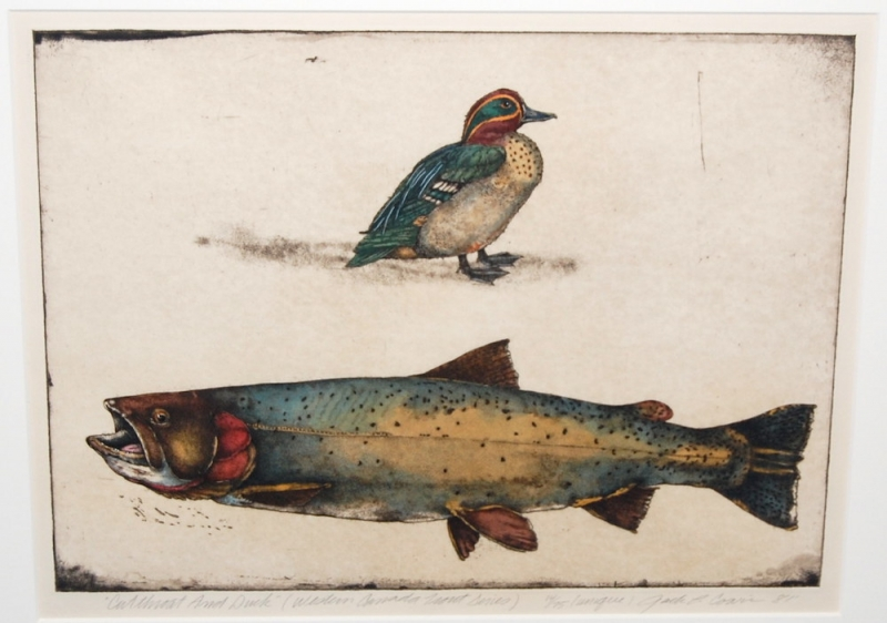 JACK COWIN-- CUTTHROAT AND DUCK
